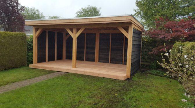 veranda larikshout 6×3,7